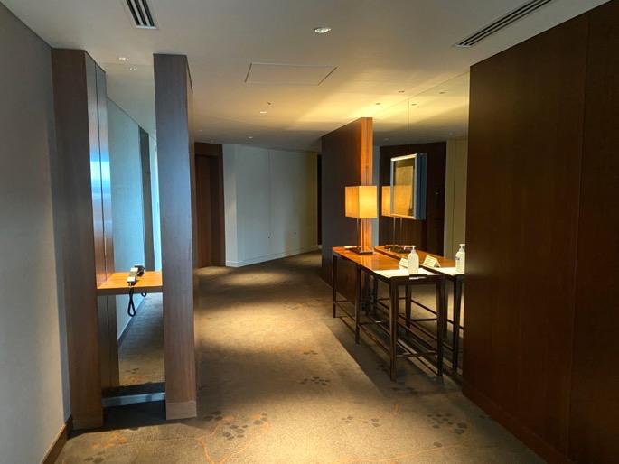 パレスホテル東京:内廊下