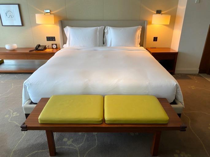 パレスホテル東京:客室(ベッド)