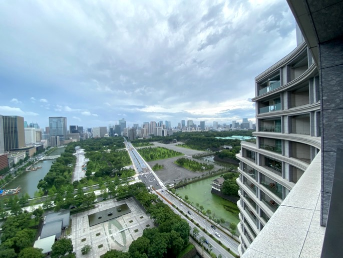 パレスホテル東京:客室(眺望2)