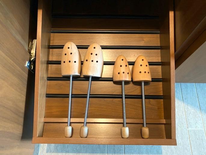 パレスホテル東京:客室(シューキーパー)