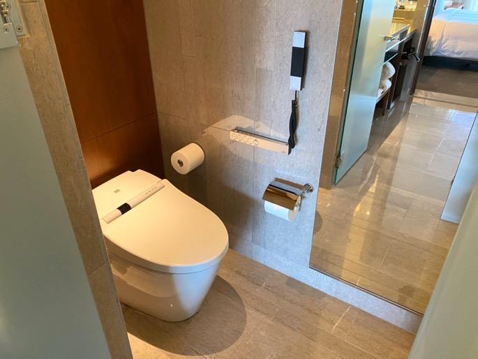 パレスホテル東京:客室(トイレ)