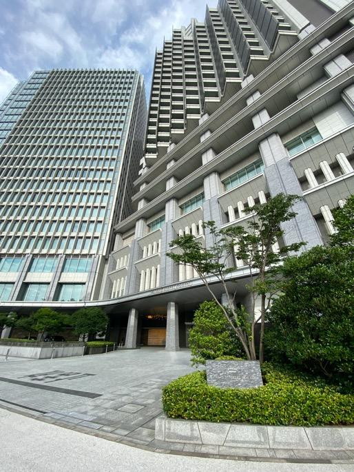 パレスホテル東京の外観