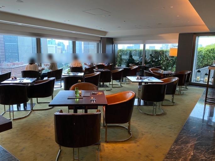 パレスホテル東京「クラブラウンジ」:全体像