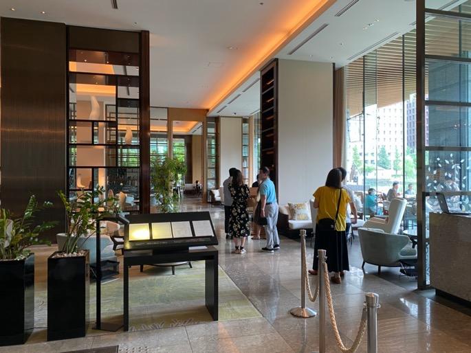 パレスホテル東京「グランドキッチン」:レセプション
