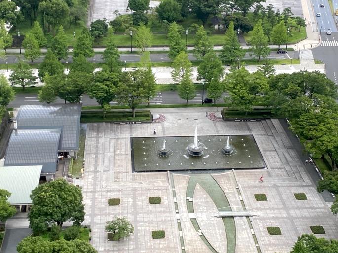パレスホテル東京:客室(眺望3)