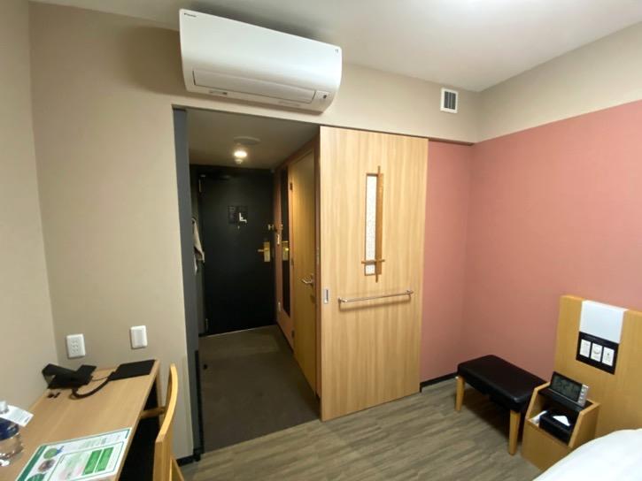 ドーミーインPREMIUM東京小伝馬町「ダブルルーム」:エアコン