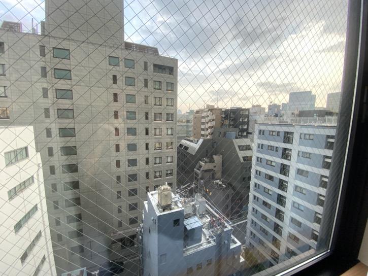 ドーミーインPREMIUM東京小伝馬町「ダブルルーム」:眺望