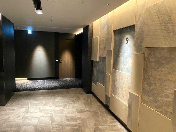 ACホテル東京銀座:内廊下
