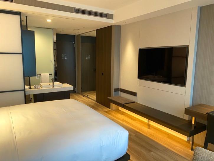 ACホテル東京銀座:客室(TVボード)
