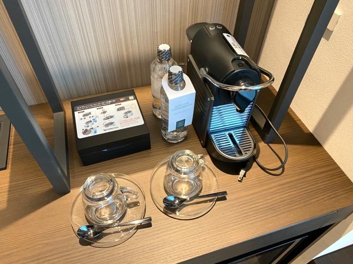 ACホテル東京銀座:客室(ミニバー)