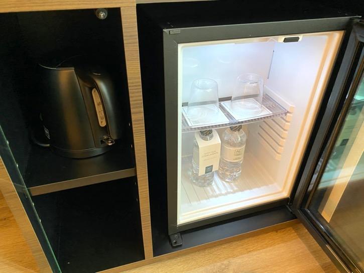ACホテル東京銀座:客室(冷蔵庫)