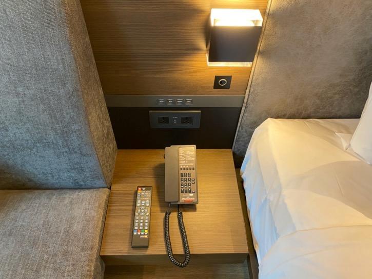 ACホテル東京銀座:客室(電話)