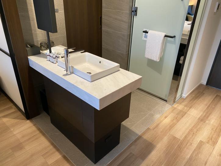 ACホテル東京銀座:客室(バスルーム)