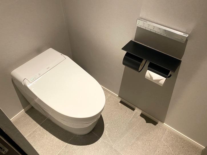 ACホテル東京銀座:客室(トイレ)