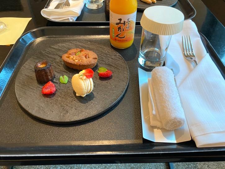 ACホテル東京銀座:「ドリンク&軽食」2