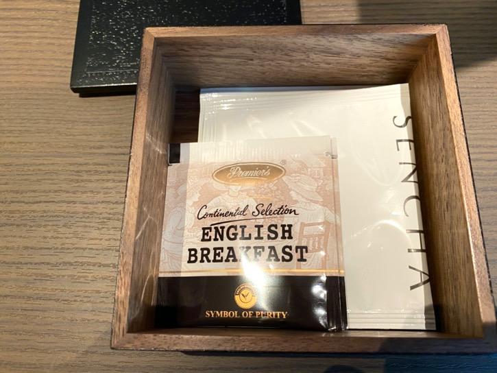 ACホテル東京銀座:客室(紅茶&日本茶)