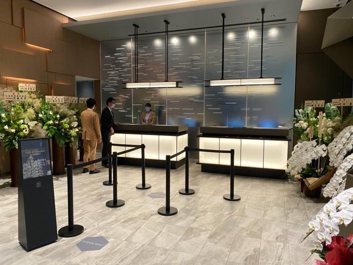 ACホテル東京銀座:レセプション