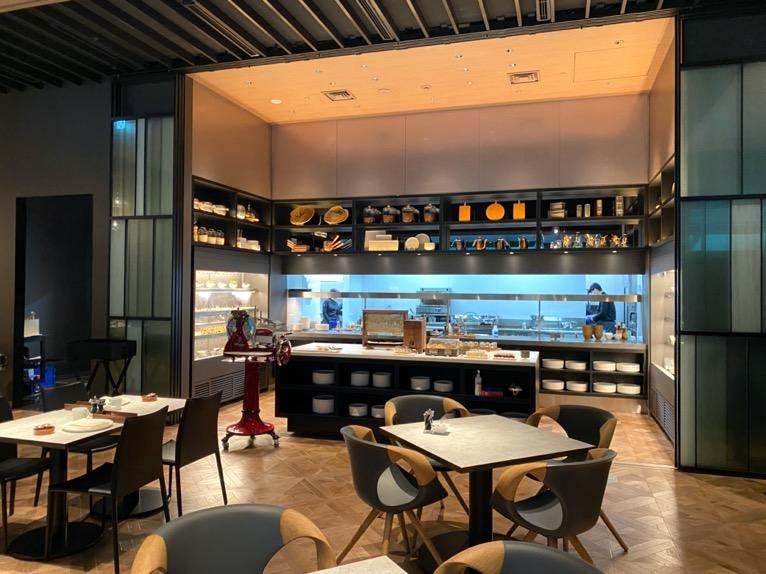 ACホテル東京銀座:レストラン「AC Kitchen」ビュッフェカウンター1