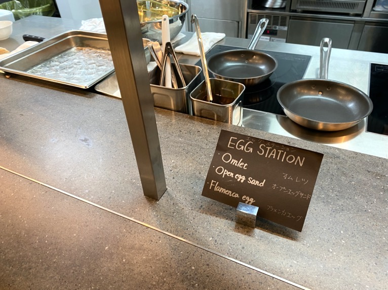 ACホテル東京銀座:レストラン「AC Kitchen」エッグステーション