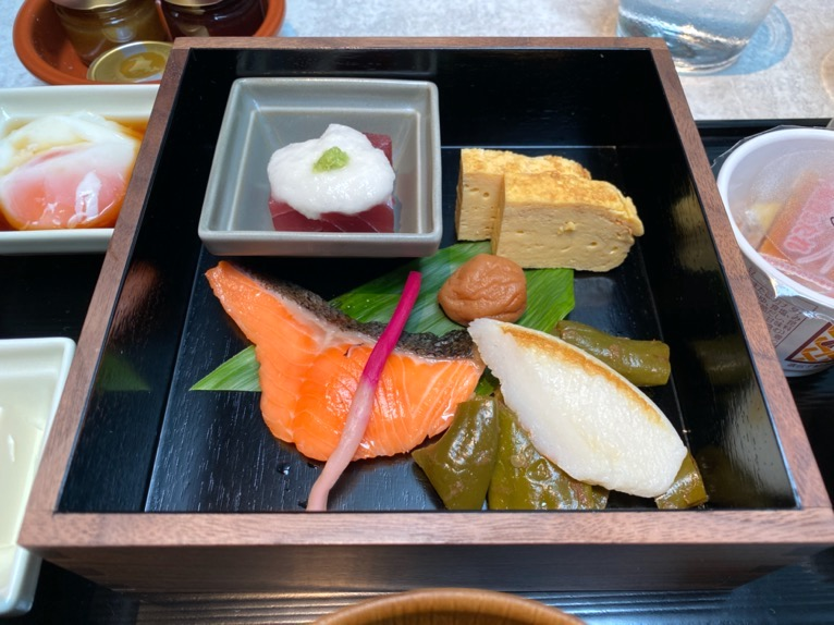ACホテル東京銀座:レストラン「AC Kitchen」和食プレート2