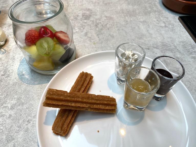 ACホテル東京銀座:レストラン「AC Kitchen」デザート1