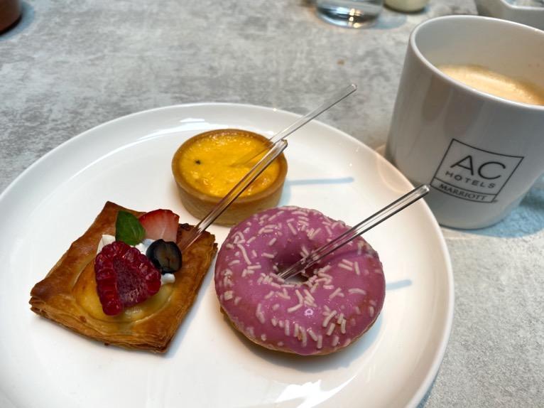 ACホテル東京銀座:レストラン「AC Kitchen」デザート3
