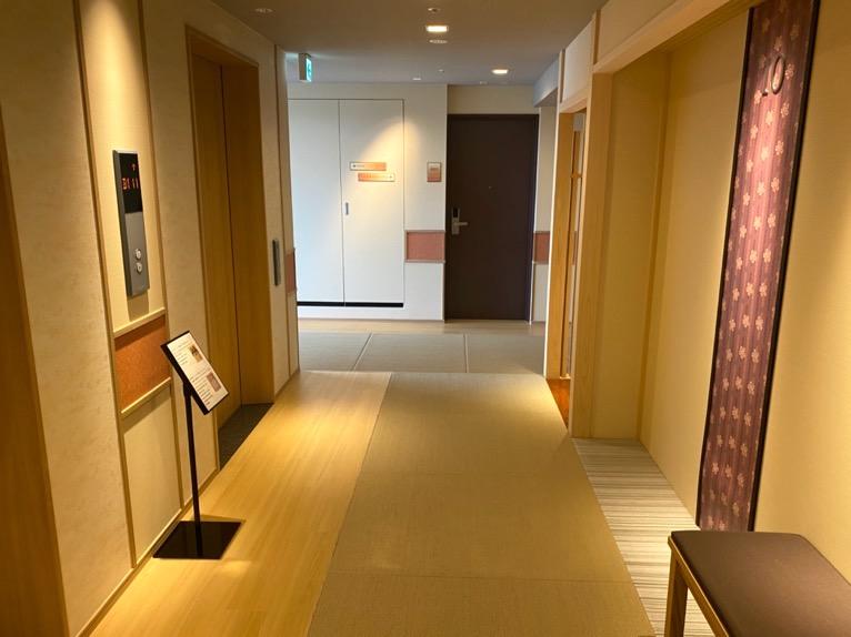 「御宿 野乃 浅草」の内廊下