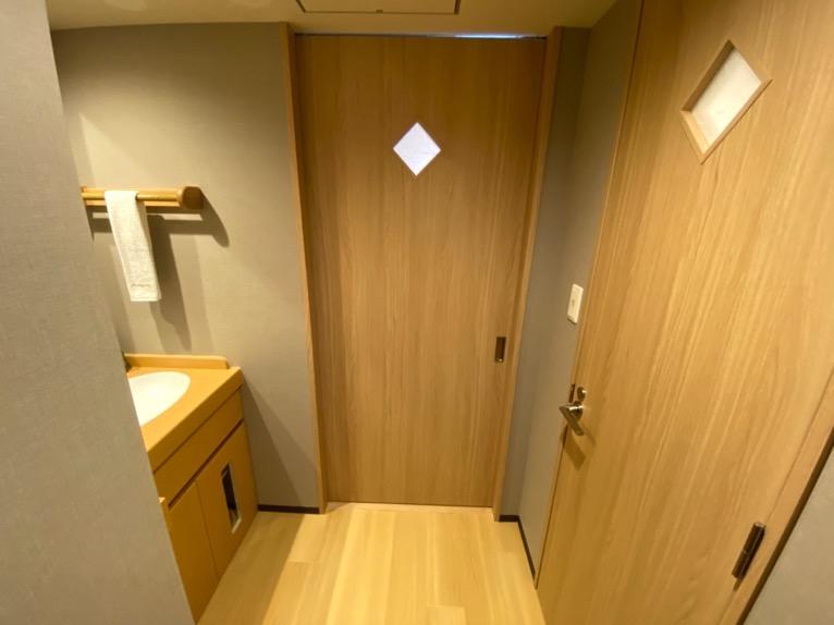 「御宿 野乃 浅草」の客室:ホワイエ