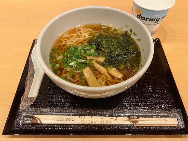 「御宿 野乃 浅草」のレストラン(Hatago):夜鳴きそば
