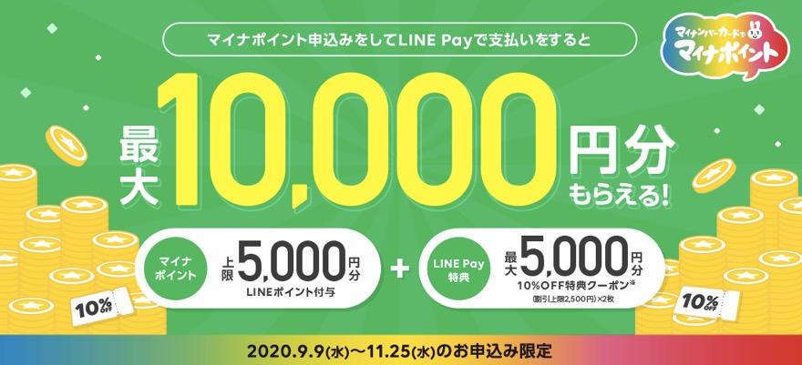 マイナポイント登録キャンペーン「LINE Pay(第2弾)」:概要