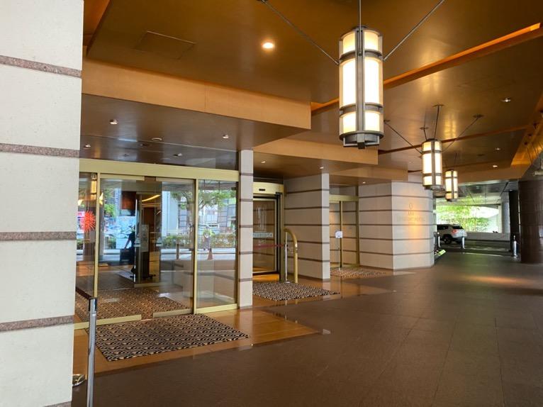 ANAインターコンチネンタルホテル東京:エントランス