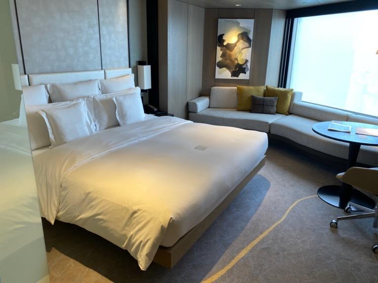 クラブインターコンチネンタルルーム:寝室