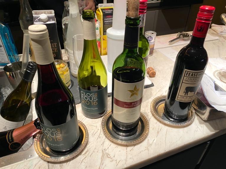 インターコンチネンタルクラブ「イブニングカクテル」:赤ワイン