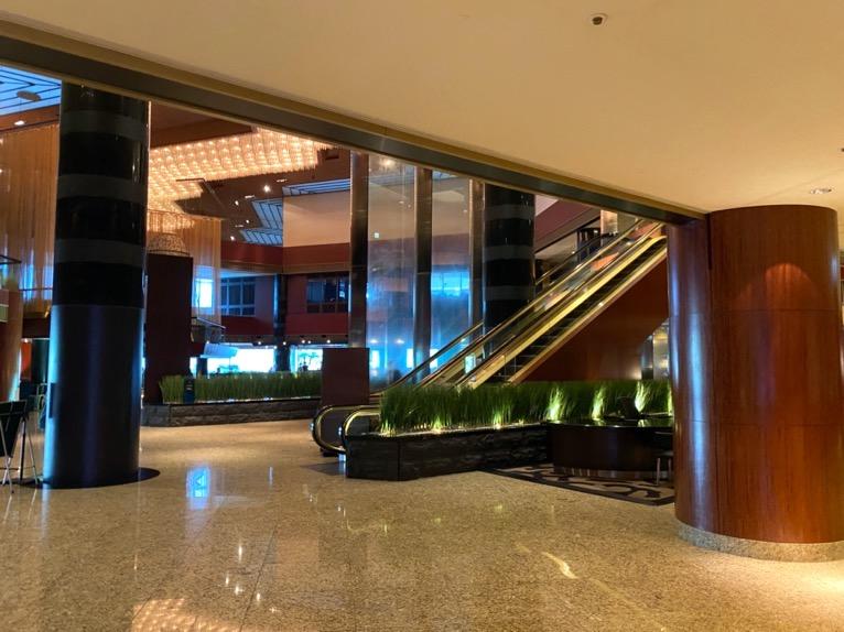 ANAインターコンチネンタルホテル東京:ロビー