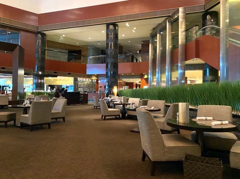 ANAインターコンチネンタルホテル東京の朝食
