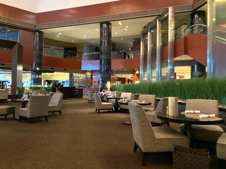 ANAインターコンチネンタルホテル東京:アトリウムラウンジ