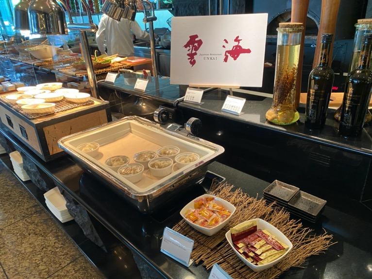 ANAインターコンチネンタルホテル東京「カスケイドカフェ」:和食1