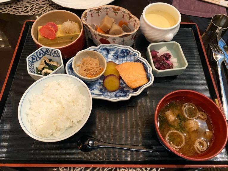 ANAインターコンチネンタルホテル東京「アトリウムラウンジ」:和食
