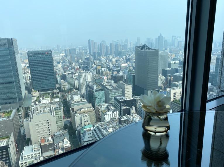 シャングリ・ラ ホテル東京のクラブラウンジ
