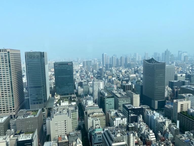 シャングリ・ラ ホテル東京「クラブラウンジ」:眺望2