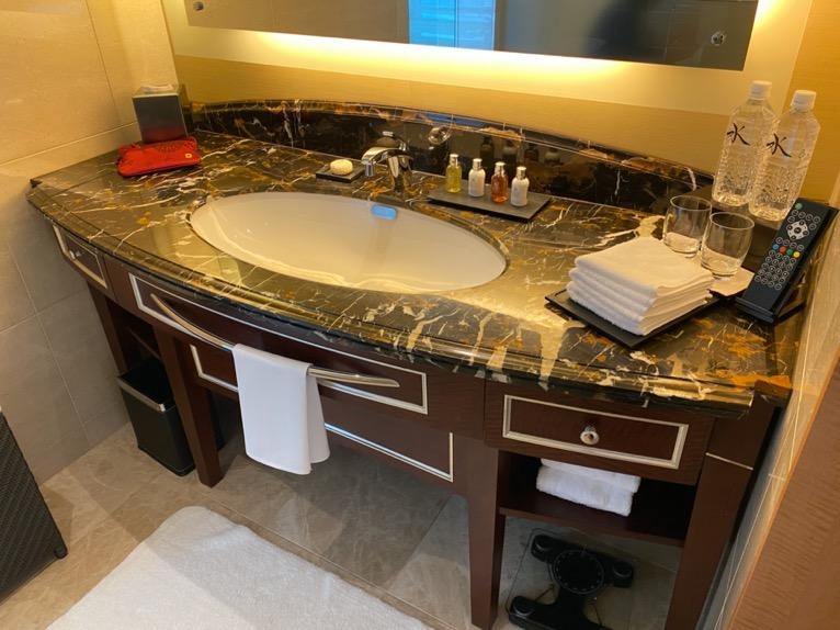 ホライゾンクラブデラックスルーム「洗面台」