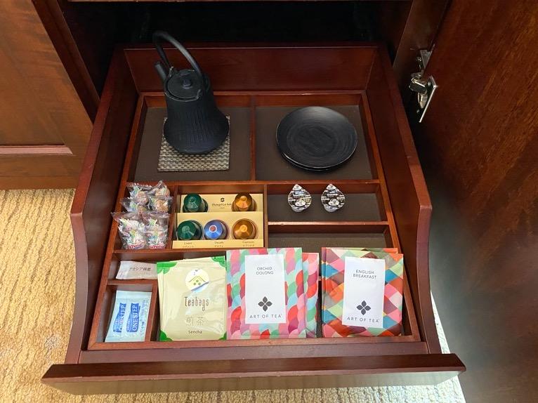 ホライゾンクラブデラックスルーム「コーヒー&紅茶」