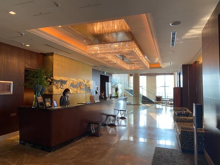 シャングリ・ラ ホテル東京「ロビー」レセプション