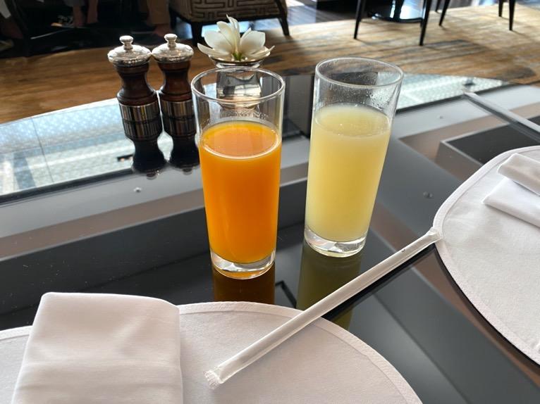 シャングリ・ラ ホテル東京「クラブラウンジの朝食」:ドリンク