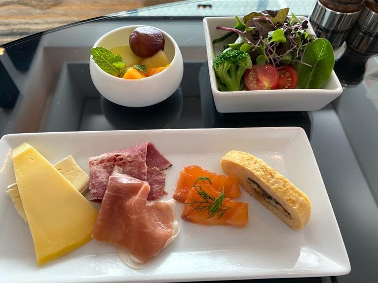 シャングリ・ラ ホテル東京「クラブラウンジの朝食」:冷菜