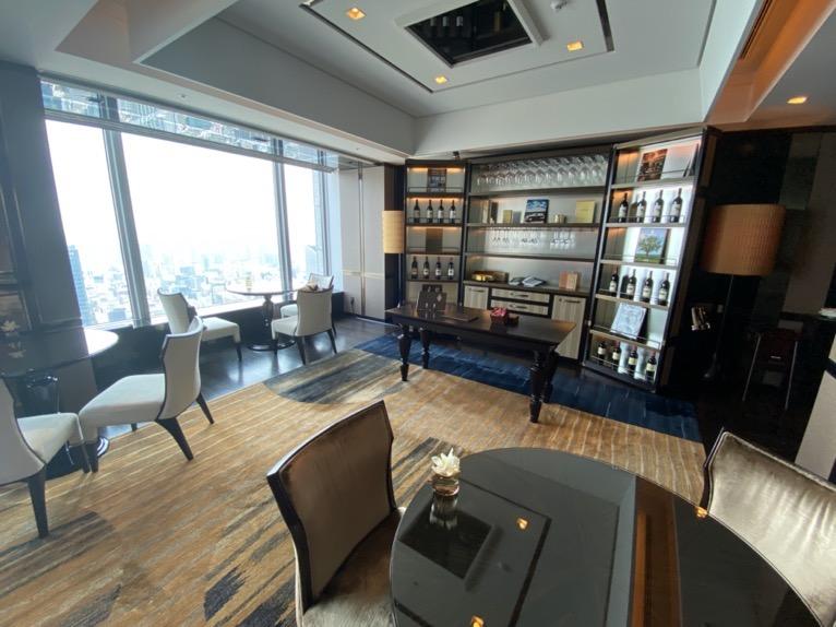 シャングリ・ラ ホテル東京「クラブラウンジ」:フロア全体像2