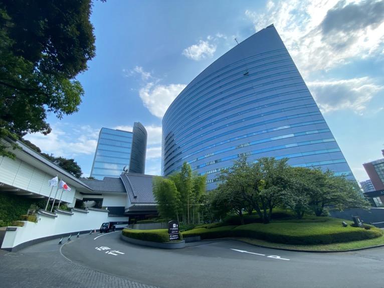 ホテル雅叙園東京:外観