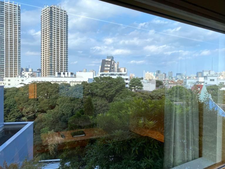 ホテル雅叙園東京「エグゼクティブスイート」:眺望2
