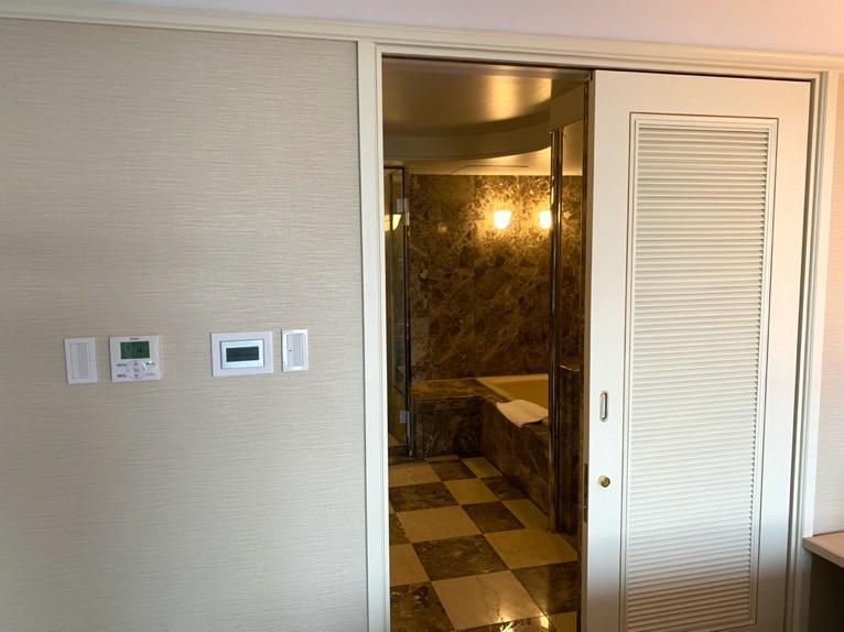 ホテル雅叙園東京「エグゼクティブスイート」:バスルーム