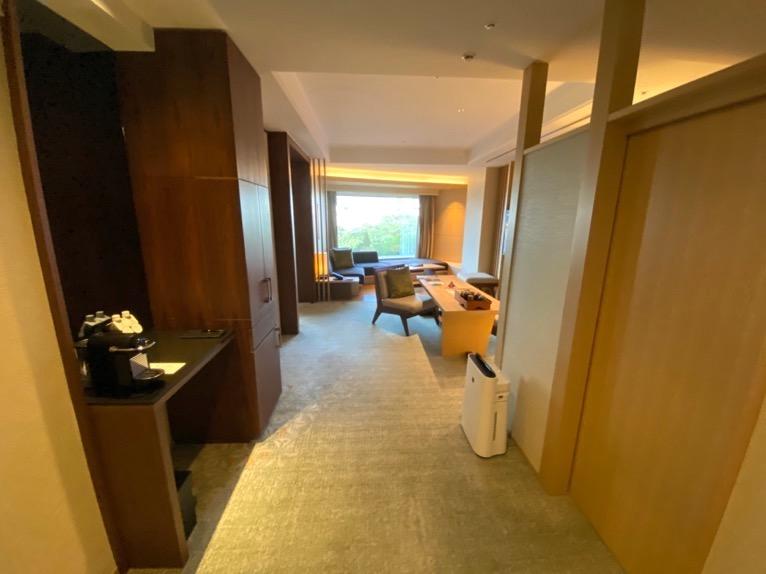 ホテル雅叙園東京「エグゼクティブスイート」:玄関